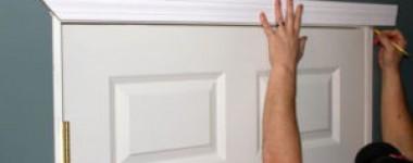 Монтиране на врата и вземане на размери